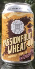 Pasteur Street Passionfruit Wheat Ale