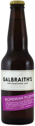Galbraith's Bohemian Pilsner