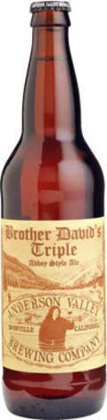 Anderson Valley Brother David's Triple Abbey-Style Ale