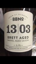 Brew By Numbers 13/03 Brett Aged Barrel Aged Saison