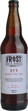Frost Beer Works Really Pale Ale
