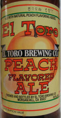 El Toro Peach Flavored Ale