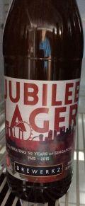 Brewerkz Jubilee Lager