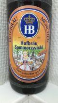 Hofbräu Münchner Sommer Naturtrüb