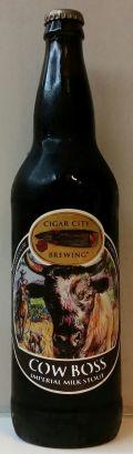 Cigar City Cow Boss Imperial Milk Stout