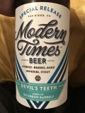Modern Times Devil's Teeth Bourbon Barrel - Heaven Hill