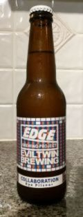 Edge / Evil Twin Collaboration Rye Pilsner