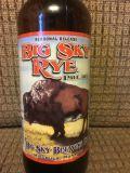 Big Sky Rye Pale Ale