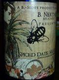 B. Nektar Spiced Date Melomel