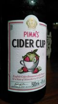 Pimm's Cider Cup Strawberry & Cucumber