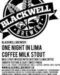 Blackwell One Night in Lima