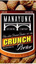 Manayunk Chocolate Peanut Butter Crunch Porter