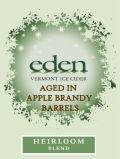 Eden Heirloom Blend Ice Cider - Apple Brandy Barrel