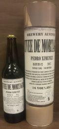 Alvinne Cuvée de Mortagne Pedro Ximénez