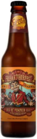 Coney Island Freaktoberfest: Big ol' Pumpkin Ale (2015-)