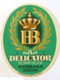 Hofbräu München Delicator Doppelbock (-2014)