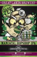 Great Lakes Brewery Maniacal Hopshop IPA