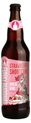 Funky Buddha Strawberry Shortcake Wheat Wine