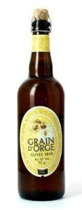 Grain dOrge Cuvée 1898