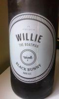 Willie the Boatman Black Bunny