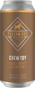 Yellow Dog Chew Toy Coconut Porter