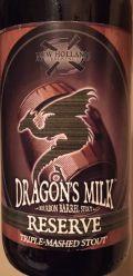 New Holland Dragon's Milk Reserve - Triple Mash