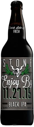 Stone Enjoy By Black IPA