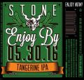 Stone Enjoy By IPA - Tangerine