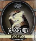 New Holland Dragon's Milk Reserve - Vanilla Chai
