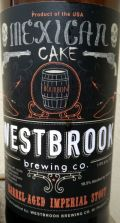 Westbrook Mexican Cake Imperial Stout - Bourbon Barrel (2015)