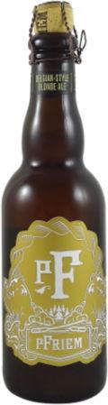 pFriem Belgian-Style Blonde Ale