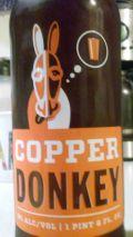 No-Li Copper Donkey