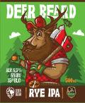 Deer Bear Deer Beard Rye IPA