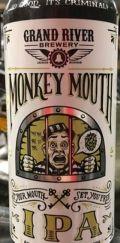 Grand River (MI) Monkey Mouth IPA