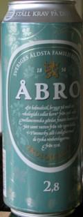 Åbro Ekologisk Öl 2.8%