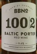 Brew By Numbers 100/2 Baltic Porter - Red Wine