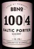 Brew By Numbers 100/4 Baltic Porter - Sherry