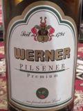 Werner Premium Pilsener