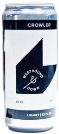 Westbound & Down Colorado Pale Ale (CPA)