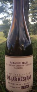 Blackberry Farm Cellar Reserve Plum & Basil Saison