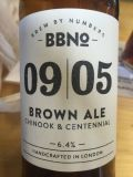 Brew By Numbers 09/05 Brown Ale - Chinook & Centennial