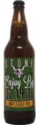 Stone Enjoy By IPA - Unfiltered