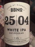 Brew By Numbers 25/04 White IPA - Antipodean