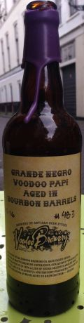 Voodoo Grande Negro Voodoo Papi (Bourbon Barrel Aged)