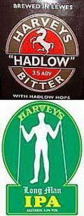 Harveys Hadlow Bitter / Long Man IPA  (Cask)