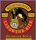 Landwehr-Bräu Dunkler Bock