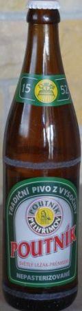 Poutnik Pelhrimov Světlý Ležák Prémium 12°