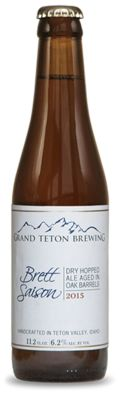 Grand Teton Brewers Series No. 2 - Brett Saison