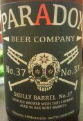 Paradox Beer Skully Barrel No. 37 (We Jam & The Jelly)