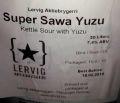 Lervig Super Sawa Yuzu